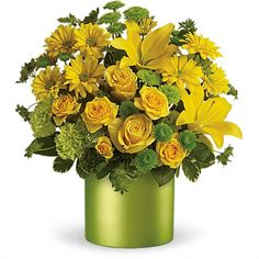 Order Teleflora's Say It With Sunshine from The Orchid Florist, your local Waterbury florist. For fresh and fast flower delivery throughout Waterbury, CT area.