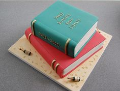 Image result for book cake ideas