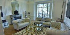 Piso reformado en París Decor, Furniture, Sofa, Sectional Couch, Home Decor