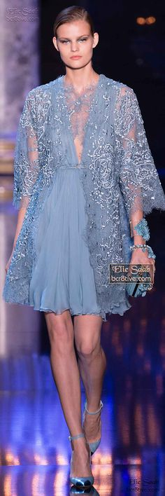 www.2locos.com  Elie Saab Fall Winter 2014-15 Haute Couture
