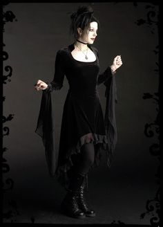 I tend to look a little ridiculous in dresses, but I've adored this one by Rose Mortem since I first laid eyes on it about 2 years ago.