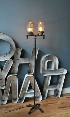 These pipe lamps are soooooper expensive to buy, but to buy gaspipe & lamp parts & make it yourself costs maybe 10% of that.