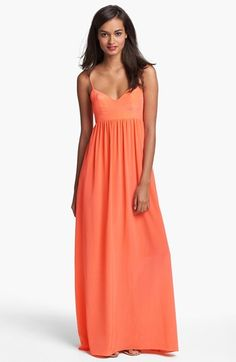 72a56965300a Amanda Uprichard Silk Maxi Dress