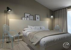 Projekt domu na Wawrze    Bedroom Progetti Architektura