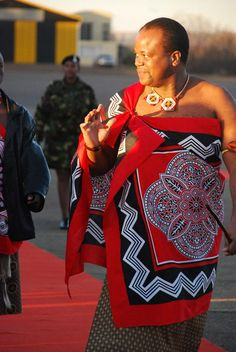 Mswati III King of Swaziland.***Ingwenyama Mswati III has been king of Swaziland since