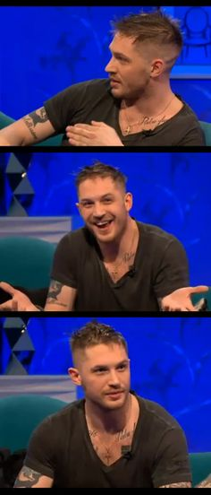 I really enjoyed watching this interview with Alan Carr....Tom was so funny and very entertaining