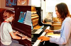 Jared Leto, then and now