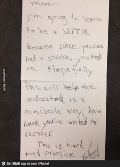 Best Daughter Ever- Faith in humanity: Restored.