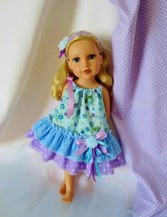 Spring is in the Air American Girl Doll Clothes  My Beautiful by HauteDesignsByNorine