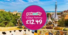 Make the most of every weekend! Jet off on a city break and pre-book your Park and Fly airport parking to get 20% off! Book your parking now at www.biaparkandfly.com Price quoted based on one car for three days.