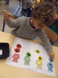 Peuterklas - Juf Evelien: We gaan op berenjacht ! Reggio Emilia Classroom, Foundation Stage, Picnic Theme, Bear Crafts, Sensory Activities, I School, Free Printables, Kindergarten, Teddy Bear