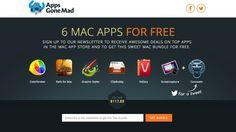 Apps Gone Mad 免費送你 7 款 Mac 正版軟體,總價值 $117.89 美元!