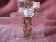 Vintage LALIQUE Perfume Bottle Art Nouveau ART DECO