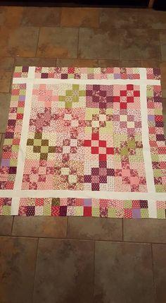 Garlic Knots baby quilt - pattern from Bonnie 31_n.jpg 528×960 pixels