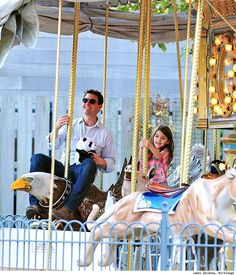father & daughter love, Tom Cruise and Suri Cruise