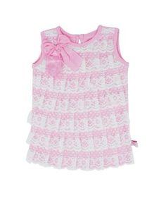RuffleButts+Lace+Pink+Ruffle-Front+Tank+|+www.RuffleButts.com