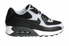 more photos f496e 9fb94 Nike Air Max 90 Essential 537384 053 Zwart Grijs Wit