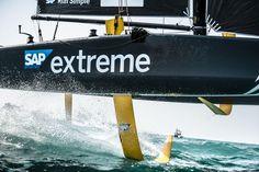 Les outils développés par SAP offrent une analyse inédite des Extreme Sailing Series grâce à l'enregistrement des données des capteurs de foils, qui aideront les équipages à améliorer leurs performances.