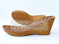 Wedges soles with insoles  high quality soles for women