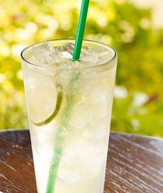 Starbucks Refreshers Cool Lime  Taste like a mojito. yumm