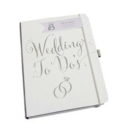 Busy B Bride to B A5 Wedding To Do Planner Book – White