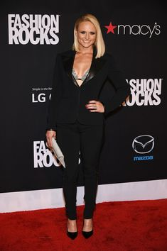 Miranda Lambert Photos: Three Lions Entertainment Presents Fashion Rocks 2014 - Arrivals