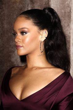 Rihanna at the Zac Posen Fashion Show in New York