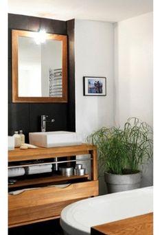 salle de bain zen dcoration zen avec des plantes salle de bain zen - Meuble Delpha Unique Onde