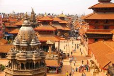 Nepal's Kathmandu Valley | 12 Reasons Nepal Should Go On Your Vacation Bucket List (Note: Some of these historic temples have been flattened by yesterday's massive earthquake. 26/04/2015)