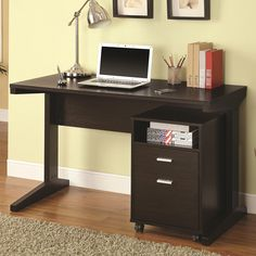 Office Desk With Matching Filing Cabinet