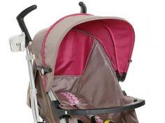 Carrinho de Bebê para Passeio Dzieco Tatus - Reclinável para Crianças até 15kg