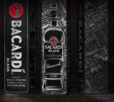 Bacardi limited edition packaging design for china market Limited Edition Packaging, Bacardi, Package Design, Rum, Philippines, Behance, Marketing, Pintura, Packaging Design