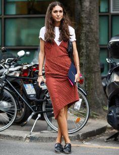 diletta-bonaiuti-vestido-looks-street-style-camiseta