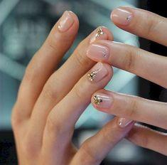 Nail Art Designs 💅 - Cute nails, Nail art designs and Pretty nails. Acrylic Nails, Gel Nails, Manicures, Matte Nails, Coffin Nails, Nail Polish, Clear Nails, Nail Nail, Nail Art Designs