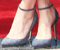 "Brie attends the event in a pair of Jimmy Choo ""Lucy"" pumps"