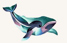 Whale Totem Tattoo by Lamorien.deviantart.com on @DeviantArt
