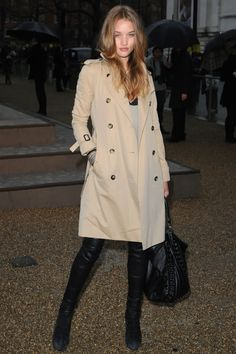 There is something about a burberry trench coat that never gets old