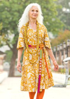 """""""Istanbul"""" cotton/linen dress – Istanbul – GUDRUN SJÖDÉN – Webshop, mail order and boutiques Fashion Over, Boho Fashion, Womens Fashion, Böhmisches Outfit, Colourful Outfits, Colorful Clothes, Bohemian Mode, Bohemian Clothing, Gamine Style"""