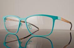 Orgreen Courtney Eyeglasses 587  Mat Teal/ Mat Peach