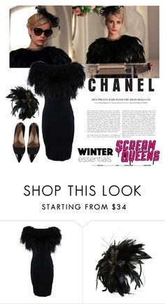 """Chanel Oberlin winter style."" by statisticam ❤ liked on Polyvore featuring Giambattista Valli, Tasha, winterstyle, winter2015, winterstaples, ScreamQueens and ChanelOberlin"