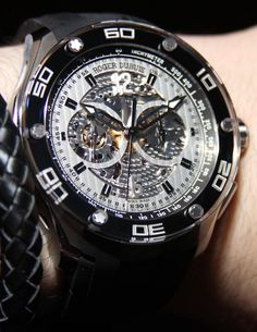 Roger Dubuis Pulsion Watches Hands-On | aBlogtoWatch