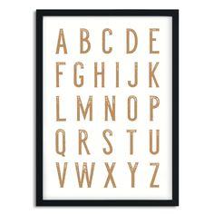 Poster Alfabet A5/A4