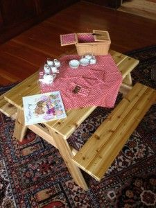The Homestead Survival   DIY  Picnic Table For Kids  