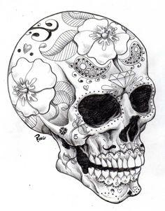 Sugar Skull, Dia de los Muertos
