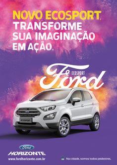 Poster de lançamento do novo  Ecosport Cliente: Ford Horizonte