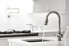 The Sweep Spray Function On This Kohler Faucet Uses Specially Angled  Nozzles To Create A Forceful