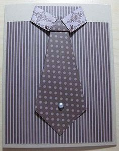 shirt and tie greeting card for a man's birthday or father's day