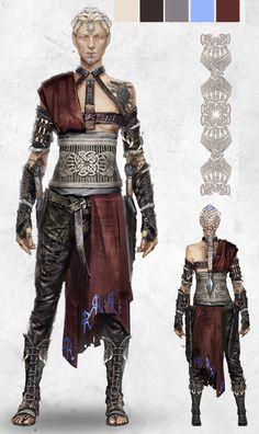 Ryse: Boudica (barbarian warrior princess) by Kaija Rudkiewicz