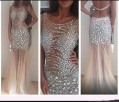 Backless Prom Dress,Beaded Prom Dress,Mermaid Prom Dress,Fashion Prom Dress,Sexy Party Dress, New Style Evening Dress