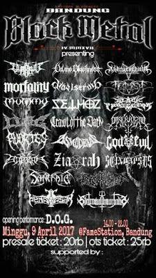 Long Live The Loud 666: BANDUNG BLACK METAL 4 APRL9 2017 WITH:LLOG,BARZAH,...